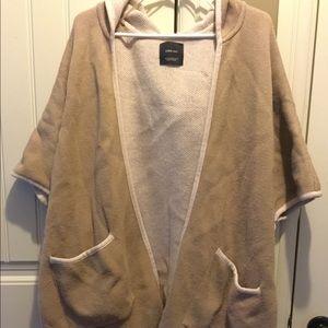 Zara knit poncho